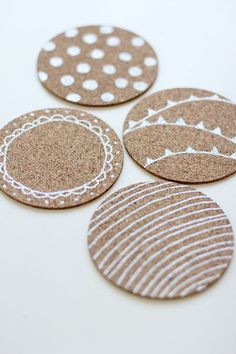 Are you a coaster-user? I never have been.. it was always something that came out at dinner parties when I was a kid, and feels a bit posh to me! However, since moving to humid Singapore, I've had to begin using them.. not necessarily to protect my table, but more because after a minute outContinue Reading >