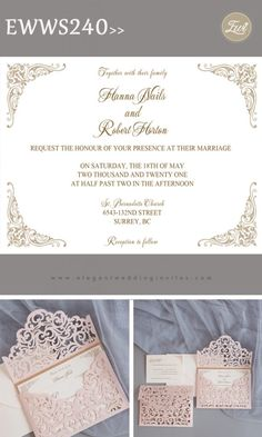 Wedding Invitation Wording & Etiquette Guides from Wedding Expert EWI – Elegantweddinginvites.com Blog Unique Invitations, Wedding Invitation Wording, Wedding Tips, Wedding Planning, Reception Card, Response Cards, Etiquette, Laser Cutting, Marriage