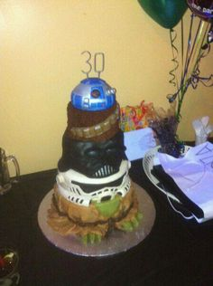 Star Wars Themed Grooms Cake Weddings Pinterest Cake And - Crazy cake designs lego grooms cake design
