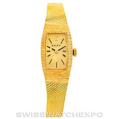 Rolex Ladies 14k Yellow Gold Vintage Watch 8422