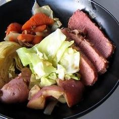"Guinness® Corned Beef | ""I get a corned beef round at my local butcher. (They make their own corned beef) I have made my corned beef ONLY this way since trying this recipe. It is the best recipe ever! On the side I serve Colcannon. Then some roasted carrots. The family cannot believe the fantastic flavor. I think using a round is the ticket. Worth every penny!"""