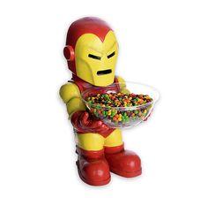 Marvel Iron Man Candy Bowl Holder. Hier bei www.closeup.de