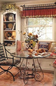 French Country Dining Room Table and Decor Ideas (69)
