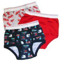 Carter's Boys 2-7 Rescue 3 Pack Briefs