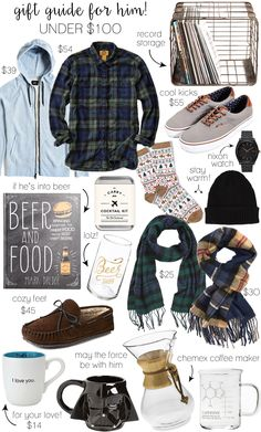 Holiday Gift Guide for Him – Under $100 | LivvyLand
