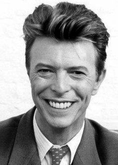 David Bowie smiling - 90's
