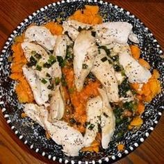 "Maple Glazed Chicken with Sweet Potatoes | ""Oh my goodness! This has become my favorite chicken dish, ever! I have made this twice now. It is a huge hit. It has become a staple in my house. I will continue to make on a regular basis. Thank you for sharing."""