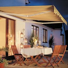 SunSetter Patio Awning Lights 6 Light Set Item 857459 Rated Out