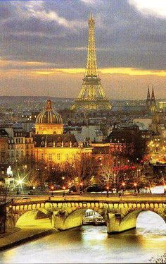 View of Paris from Notre Dame-