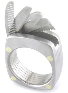 The Man Utility Ring in Titanium