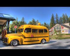 46 Chevrolet School Bus