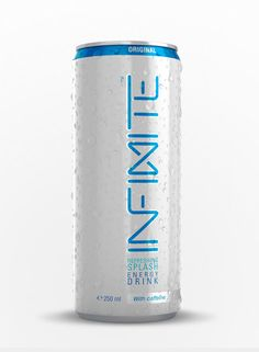 Infinite Energy Drink on Packaging of the World - Creative Package Design Gallery