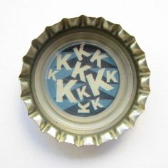 "Coca-Cola Brasil promotional ""kkkkkkk"" bottle cap."