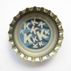 "Coca-Cola Brasil promotional ""kkkkkkk"" bottle cap."