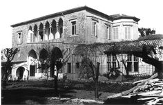 An old house in Beirut.