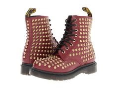 Dr. Martens Spike All Stud 8-Eye Boot. For an additional 3% off your order sign up at   http://www.ebates.com/rf.do?referrerid=IR0blIl3xxj30K45w%2BDBVg%3D%3D