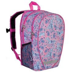 Watercolor Ponies Pink Comfortpack Backpack - Click image twice for more info - See a larger selection of pink backpacks at http://kidsbackpackstore.com/product-category/pink-backpacks/ -  kids, juniors, back to school, kids fashion ideas, teens fashion ideas,  school supplies, backpack, bag , teenagers girls , gift ideas, pink.