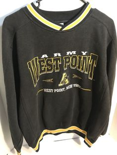 2ff3d830a Rare Vintage Army West Point Sweatshirt Sweater Lee Sport Size Medium M