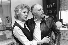 Bea Arthur and husband Gene Saks