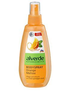 alverde Bodyspray Orange Melisse