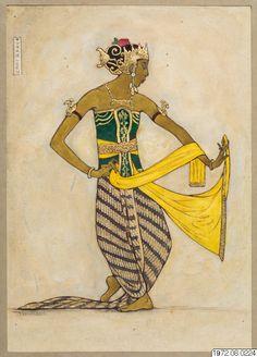 Dancer Drawing, Painting & Drawing, Polynesian People, Nature Collage, Indonesian Art, Art Nouveau Design, Balinese, Minimalist Art, Islamic Art