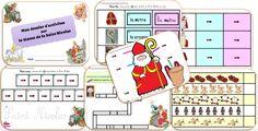 Dossier d'activités de math et français sur le thème. Niveau maternel