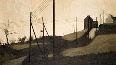Biddulph Moor by Jack Simcock Urban Landscape, Landscape Art, Landscape Paintings, Industrial Paintings, Walker Art, Seascape Art, English Artists, Art Uk, Art For Art Sake