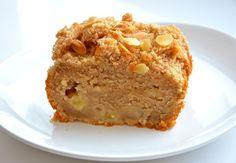 Nežný  jablkový  koláč