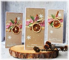 In this DIY tutorial, we will show you how to make Christmas decorations for your home. The video consists of 23 Christmas craft ideas. Create Christmas Cards, Homemade Christmas Cards, Merry Christmas Card, Noel Christmas, Diy Christmas Ornaments, Xmas Cards, Winter Christmas, Handmade Christmas, Holiday Cards