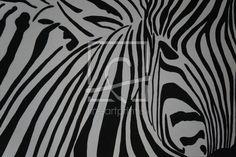 Zebra as a canvas print 11404607 Fine Art Prints, Canvas Prints, Animal Print Rug, Abstract, Artwork, Decor, Drawing Pictures, Print To Canvas, Black White Stripes