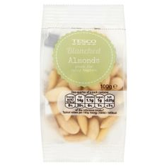 #Tesco! Blanched Almonds. Great for spicy tagines.