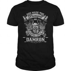 I Love DAMRON DAMRONYEAR DAMRONBIRTHDAY DAMRONHOODIE DAMRONNAME DAMRONHOODIES  TSHIRT FOR YOU T-Shirts