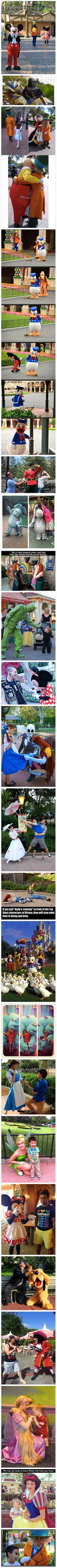 Here is some undeniable proof that Disney theme parks are a magical place.