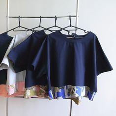 Rika Shioya Boutique RS14T01-000 Kimono Top Audrey | Rika Shioya