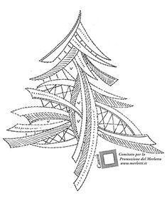 Bobbin Lace Patterns, Applique Patterns, Contemporary Christmas Trees, Bobbin Lacemaking, Wood Burning Crafts, Lace Heart, Lace Jewelry, Lace Embroidery, Lace Making
