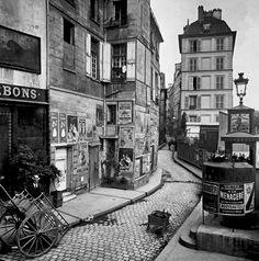 Scenes of Old Paris, Vintage Paris Vintage Paris, Eugene Atget, Old Pictures, Old Photos, Vintage Photos, Famous Photos, Vintage Photography, Street Photography, Paris 1900