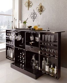 Wine Liquor Cabinet   I Wish Theyu0027d Ship Here Belle Maison, Idées Pour