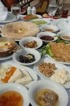 A typical Turkish breakfast #breakfast #morning #happy #smile #istanbul #turkey