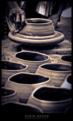 """""""WE ARE NOT CISTERNS MADE FOR HOARDING; WE ARE CHANNELS MADE FOR SHARING,"""" Billy Graham. """"But now, O LORD, You are our Father; we are the clay, and You our potter; and we all are the work of Your hand,"""" Isaiah 64:8."""
