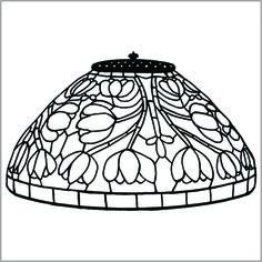 "14"" Crocus Dome Lamp"