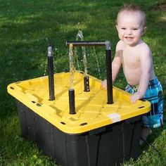 Water Table, for the Kids. With instructions