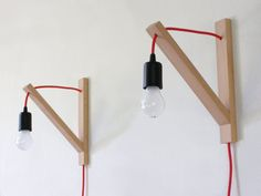 Pair of Wall lamp, minimalist wall sconce, minimal simplicity