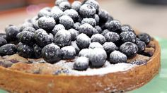 I just discovered this amazing recipe Brown Butter Tart with Berries by Chef Nancy Silverton!