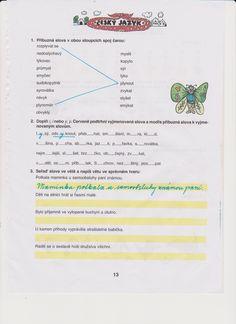 český jazyk Bullet Journal, Education, Onderwijs, Learning