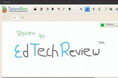 Tutorsbox - Online Tutoring Whiteboard #edtech #edtools #whiteboard #onlineed #edapp #collaboration #techinedu