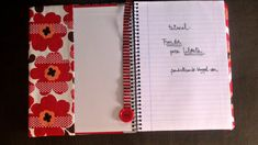 PANDIELLEANDO: Tutorial: Funda de tela para libreta Ideas Para, Patches, Notebook, Baby Shower, Sewing, Cover, Fabric, Projects, How To Make