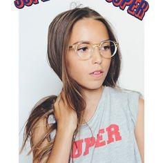 Nouvelle SUPER campagne - 📸 @iammichellemarshall #verysober #kidsframes #eyewear #supereyewearforkids #lunettes #madeinfrance 🇫🇷 #handmade #jura ❤️ Joséphine