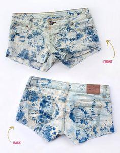 Bleach shorts