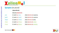 """Lección #63 """"Pronombres personales en dativo"""" Mas material de estudio haciendo clic: www.xplicame.com"""
