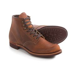 Red Wing Heritage 3343 Blacksmith Boots - Leather, Factory 2nds (For Men) in Copper